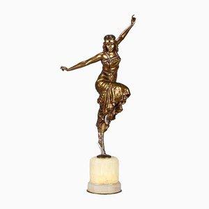 Sculpture Danseuse Art Déco par Philippe, Russie, années 20