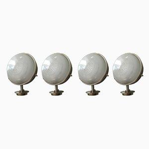Vintage Wandlampen von Sergio Mazza für Artemide, 1960er, 4er Set