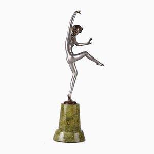 Art Déco Cleo Skulptur von Josef Lorenzl, 1930er