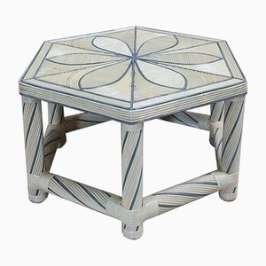 Hexagonal Coffee Table, 1980s