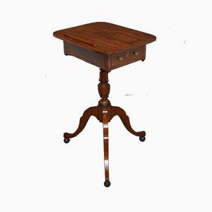 Mesa de lectura Regency antigua de caoba