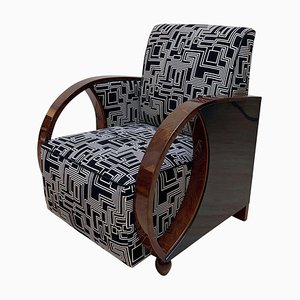 Art Deco Club Chair by Eley Kishimoto for Krikby Design, 1930s
