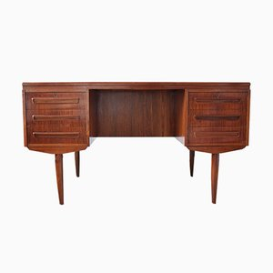 Vintage Rosewood Desk by J. Svenstrup for A.P. Møbler, 1960s
