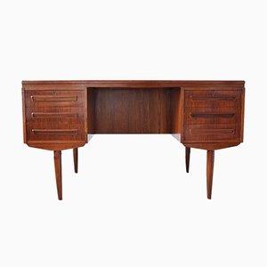 Vintage Schreibtisch aus Palisander von J. Svenstrup für A.P. Møbler, 1960er