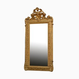 Antique Victorian Giltwood Pier Mirror