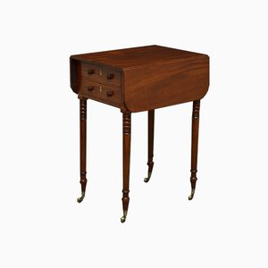 Antiker Regency Pembroke Tisch