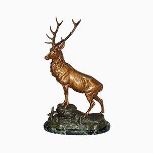 Scultura The Deer di Louis Carvin, anni '20