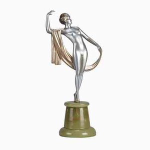 Art Deco Elegance Sculpture by Josef Lorenzl, 1930s