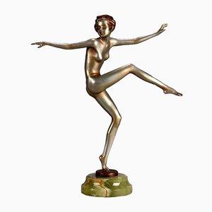 Vintage Art Deco Con Brio V Sculpture by Josef Lorenzl, 1930s