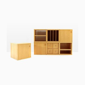 Mid-Century Italian Bric Modular Storage Unit by Enzo Mari & Antonia Astori for Driade, 1970s
