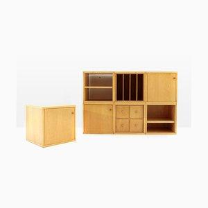 Unidad de almacenamiento modular Bric italiana Mid-Century de Centro Studi para Artemide, años 70
