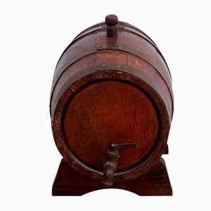 Antique Wooden Barrel