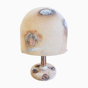 Tischlampe aus Muranoglas von Alfredo Barbini, 1983