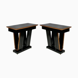 Vintage Italian Console Tables, 1950s, Set of 2
