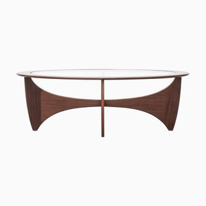 Oval Vintage Teak Astro Coffee Table by Victor Wilkins for G-Plan, 1960s
