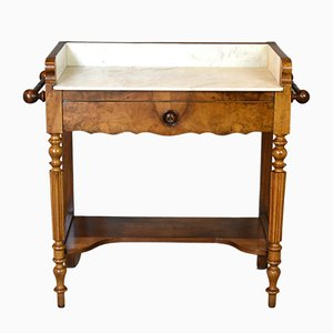 Antique French Walnut Washstand