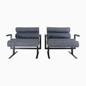 Vintage Roll Chairs by Joe Colombo for Luigi Sormani, 1964, Set of 2