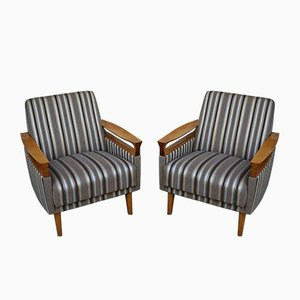 Mid-Century Modern Armchairs, 1960s, Set of 2