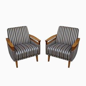 Moderne Mid-Century Sessel, 1960er, 2er Set