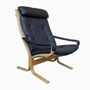 Norwegian Siesta Lounge Chair by Ingmar Relling for Westnofa, 1970s