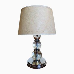 Lampada da tavolo Art Deco vintage modernista di Jacques Adnet