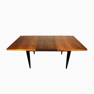 Walnut & Ebony Extendable Dining Table from Meredew, 1960s