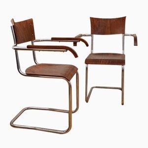 Vintage Armchairs by Robert Slezak