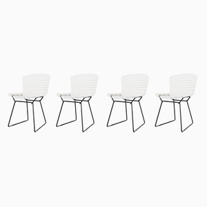 Model 420 Side Chairs by Harry Bertoia for Knoll Inc./Knoll International, 1970s, Set of 4