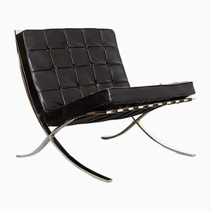 Model MR90 Barcelona Chair by Ludwig Mies van der Rohe for Knoll Inc. / Knoll International, 1980s
