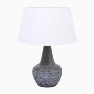 Mid-Century Danish Stoneware Model 3048 Table Lamp from Søholm, 1960s