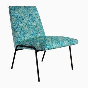 Vintage Stuhl mit Metallgestell, 1950er