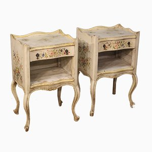 Venetian Night Stands, 1960s, Set of 2