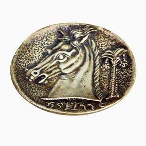 Vide-Poche vintage de bronce de Max Le Verrier, años 30