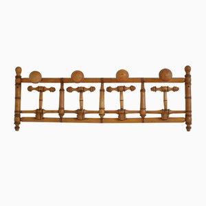 Antike französische Garderobe aus Bambusholz