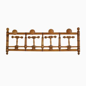 Antique French Faux Bamboo Coat Rack