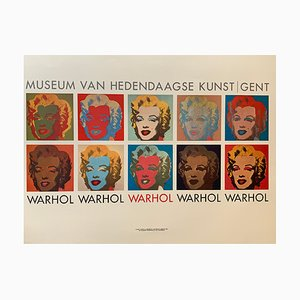 Vintage Andy Warhol Exhibition Poster from Grafiche Volpini, 1970s