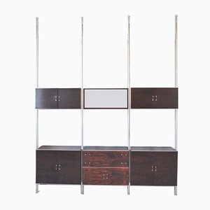 Modernist Italian Rosewood Wall Unit, 1960s