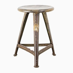 Metal Stool by Robert Wagner for Rowac, 1930s