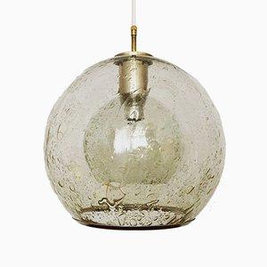 Vintage Hängelampe aus Sideglas von Doria Leuchten, 1960er