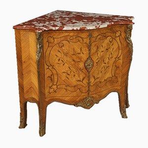 Mueble esquinero francés de palisandro, años 60