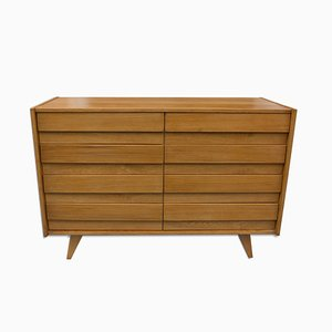 Vintage U-453 Chest of Drawers by Jiří Jiroutek for Interier Praha, 1960s