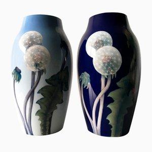 Vases en Porcelaine de Royal Copenhagen, années 90, Set de 2