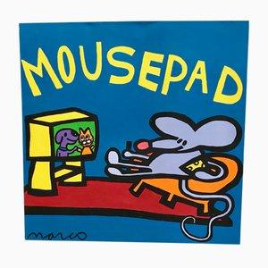 Pop Art Mousepad Gemälde von Marco