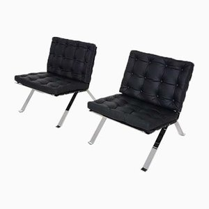 Model Euro 1600 Lounge Chairs by Hans Eichenberger for Girsberger, 1960s, Set of 2