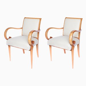Art Deco Cocktail Chairs, 1930s, Set of 2