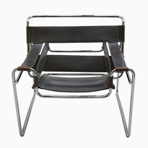 Vintage Wassily Armchair by Marcel Breuer for Knoll, 1980s