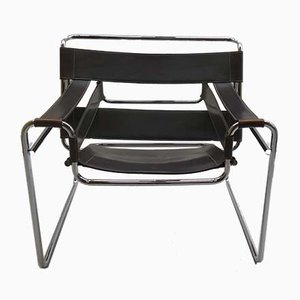 Vintage Wassily Armchair by Marcel Breuer for Koll, 1980s