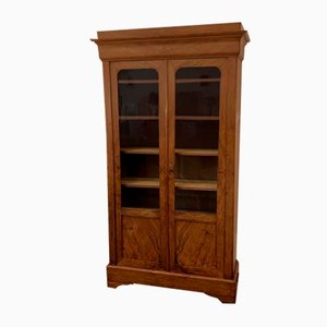 Antique Louis Philippe Style Display Cabinet