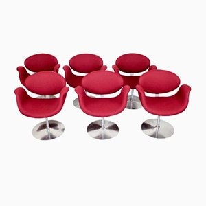 Little Tulips Side Chairs by Pierre Paulin for Artifort, 1980s, Set of 6