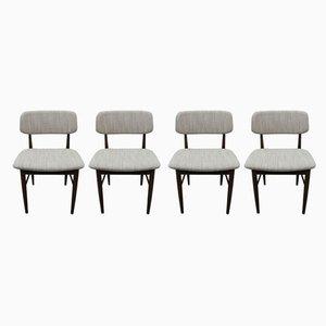 Esszimmerstühle aus Teak von Mahjongg, 1971, 4er Set